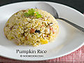 Pumpkin rice