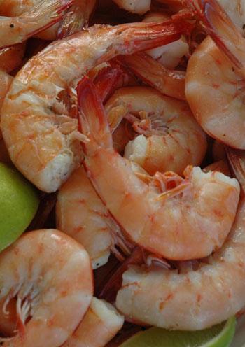 Cooked-prawns