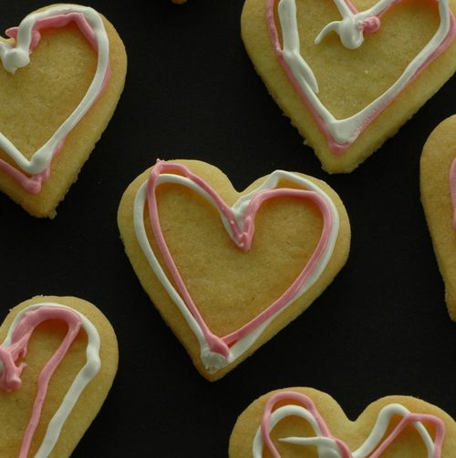 Cookie heart p