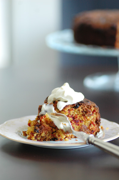 Beetroot-cake