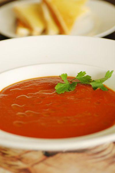 Roasred-capsicum-soup