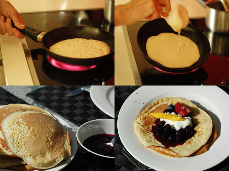 Hotcake-collage