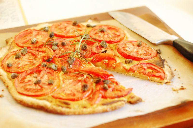 Tomato-tart-slice-removed