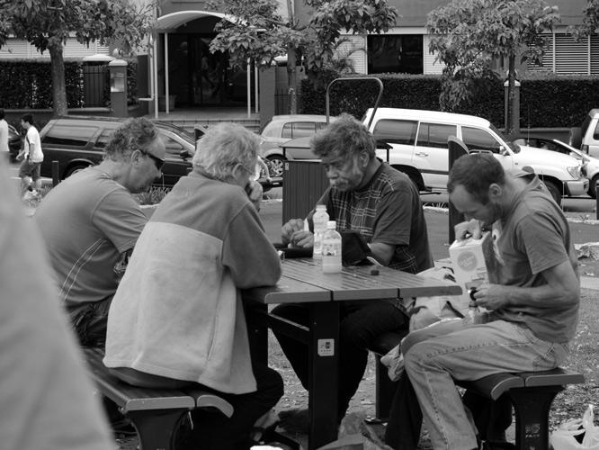Homeless-men-in-park