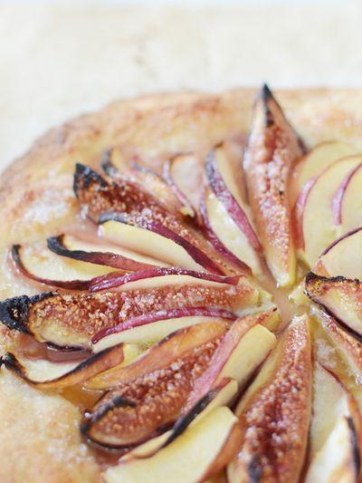 Fig-peach-open-tart