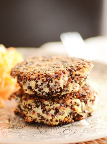 Quinoa-patties-cooked