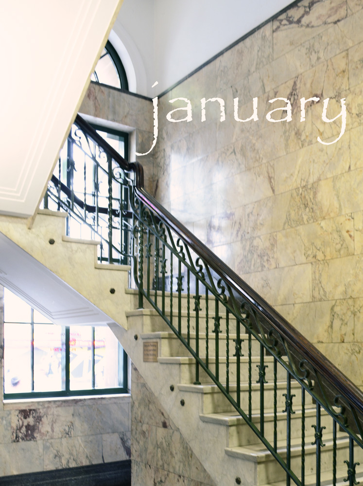 Marble-staircase
