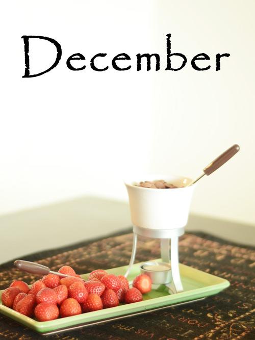 Strawberries-fondue