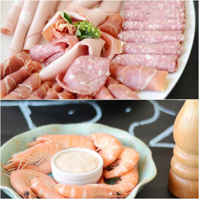 Meat-prawns-platter