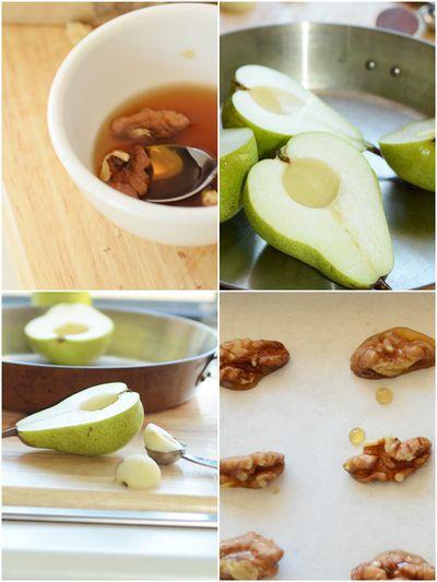 Pear-walnut-collage