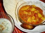 Potatoandlentilcurry